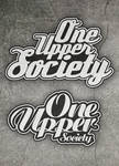 ONE UPPER SOCIETY logotypes