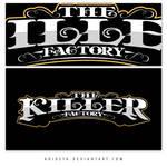 The Killer Factory Logotypes 5