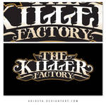 The Killer Factory Logotypes 6