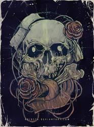 Tone and  Color Test : Skull Bone