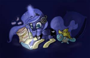 Gamer Luna by JoieArt