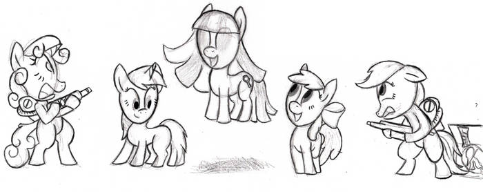 Cutie Mark Crusader Ghost Grabbers