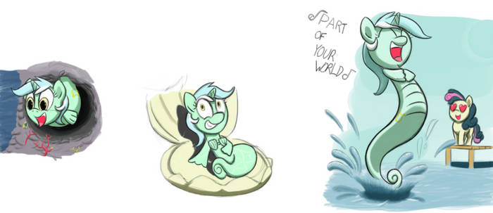 Seapony Lyra Sings