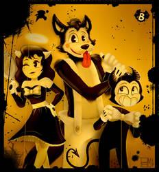 BENDY THE LITTLE DEVIL by PamelaMrq