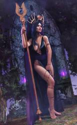 Dark Oracle by MayaMiarka