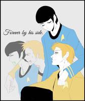 OTP Kirk/Spock - Captain's First Officer by KatsuyaCrimson