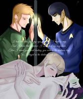 Kirk/Spock - Cosmic Love by KatsuyaCrimson