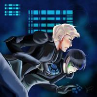 K/S Deeper the bond, Better you fight by KatsuyaCrimson