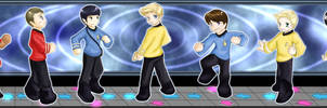 Dance! Dance! Revolution! Star Trek