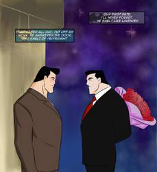 Bruce/Clark - First Date Pickup by KatsuyaCrimson