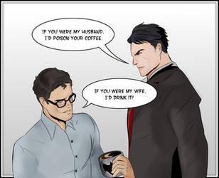 SuperBat Husbands by KatsuyaCrimson