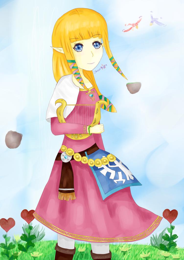 Skyward Sword Zelda by staarlxght