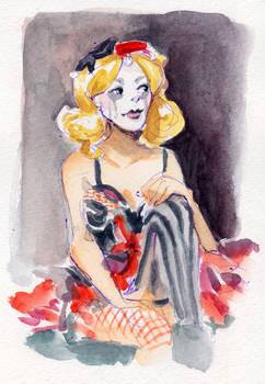 Life Drawing - Harley Quinn