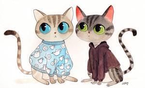 Animal Sweater Sunday - Teapot and Nazgul