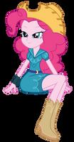 Pinkie Pie - EQG - Cowgirl Dress by PonyHD