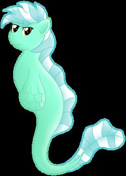 Lyra the Seahorse - Shoo bee doo (Shaded)