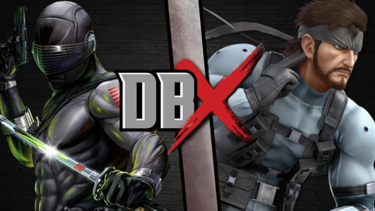 Snake Eyes Vs Solid Snake By Artistgalaxy On Deviantart