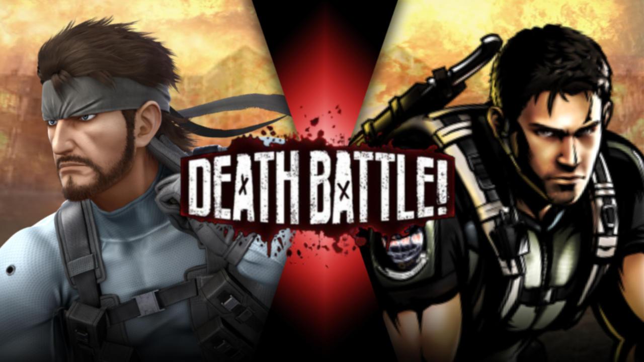 Solid Snake Vs Chris Redfield By Artistgalaxy On Deviantart