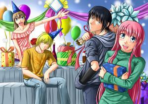 Birthday party by sandertulk
