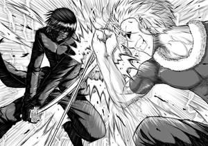 Ryuu vs Rigaldo by sandertulk
