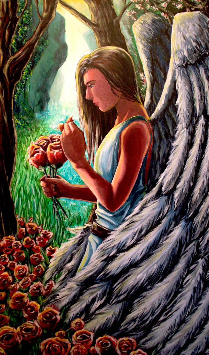 Angel by sandertulk