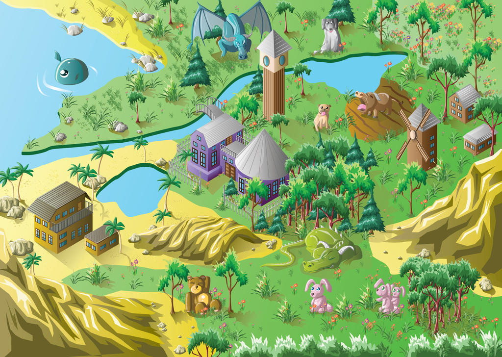 Adventure land by sandertulk