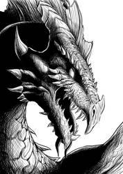 Dragon by sandertulk