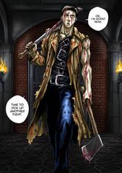 Onepunch man- Zombieman by sandertulk