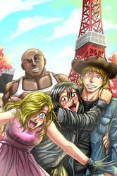 Kleo of the Streets- Tokyo edition by sandertulk