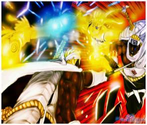 Naruto e Killer Bee by Peagnox