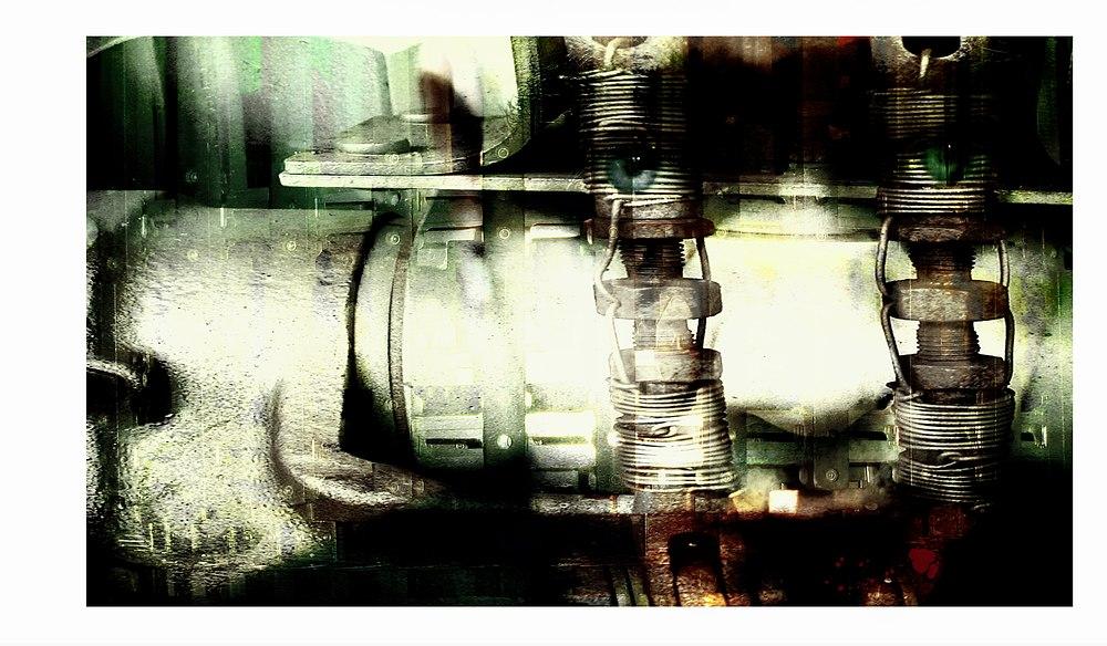 mechanical portrait by HerrBuchta
