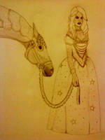 White Queen old style sepia by BabyGirlFallenAngel