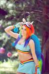 Tiffany Dean Cosplay Rainbow Dash My Little Pony