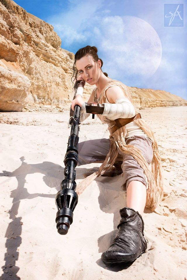 Rey Star Wars Cosplay by Tiffany Dean by BabyGirlFallenAngel