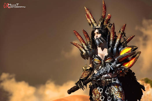Deathwing the Destroyer Cosplay - WOW