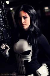 Marvel's The Punisher (Fem) Cosplay by BabyGirlFallenAngel
