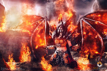 Deathwing Cosplay - WoW Cataclysm - Zach Fischer by BabyGirlFallenAngel