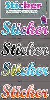 Sticker Photoshop Styles