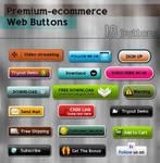 Premium-ecommerce Web Buttons