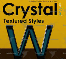 Crystal textured text effects by kh2838