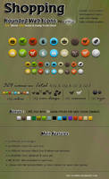 Shopping Rounded Web Icons by kh2838