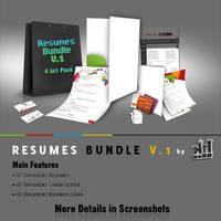 Resumes Bundle V1 by kh2838