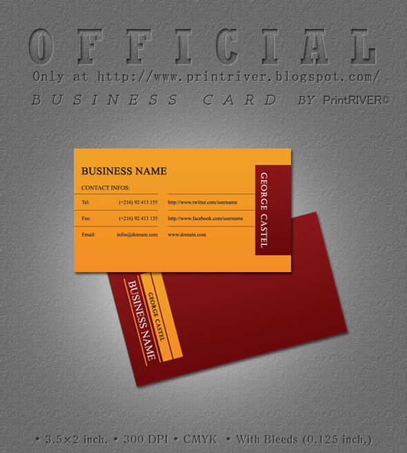Official Business Card By Kh2838