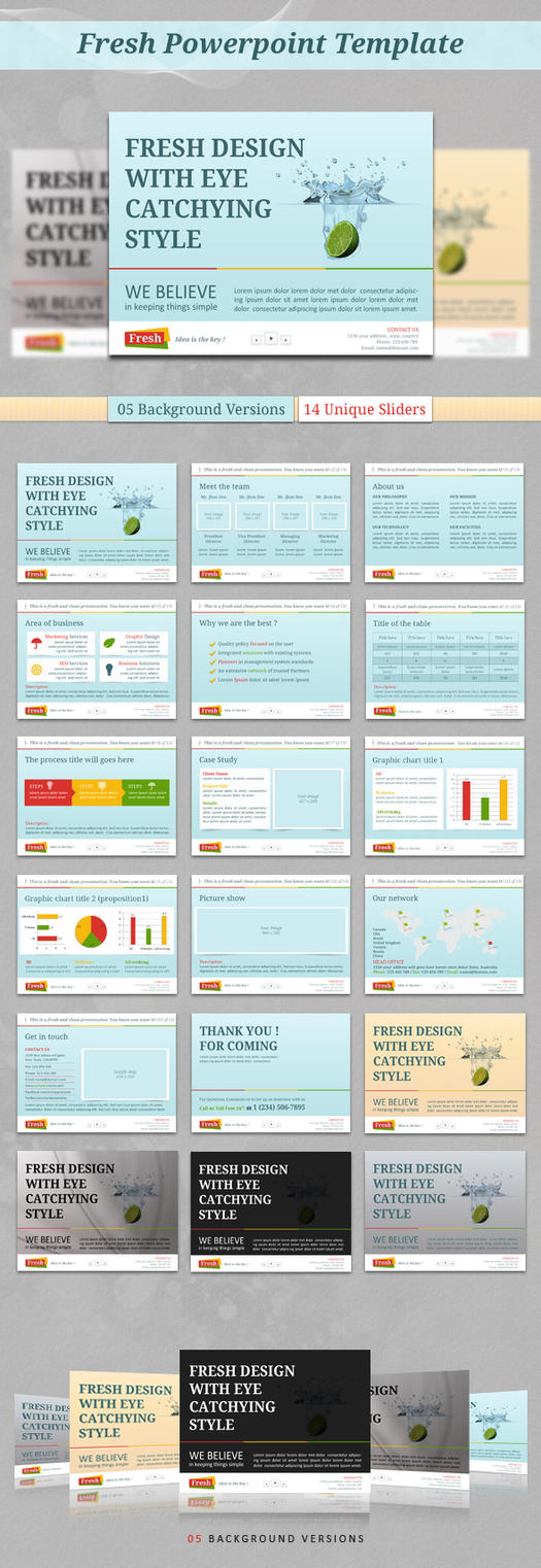 Pptx explore pptx on deviantart kh2838 11 2 fresh powerpoint template by kh2838 toneelgroepblik Choice Image