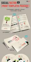 SocialFactor Print Templates Package Vol.01