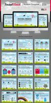 SocialCloud Keynote Template by kh2838