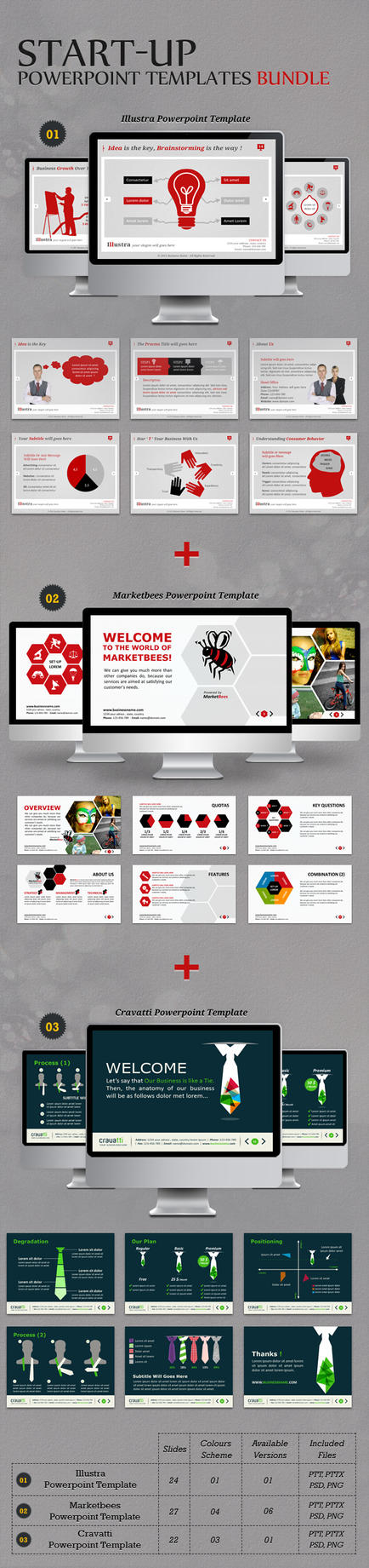 Full templates on powerpointpros deviantart kh2838 9 4 start up powerpoint templates bundle by kh2838 toneelgroepblik Image collections
