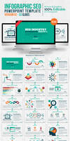 Infographic SEO Powerpoint Template - Version 02