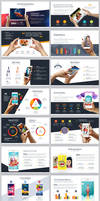 Powerpoint Devices mock-up templates