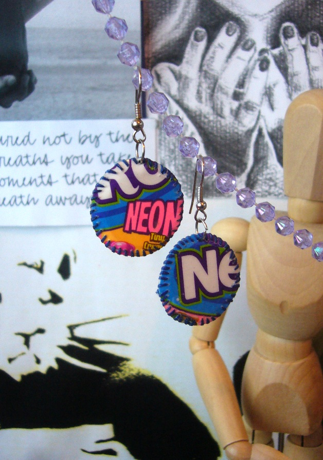 Nerd Earrings by elleira5jewellery